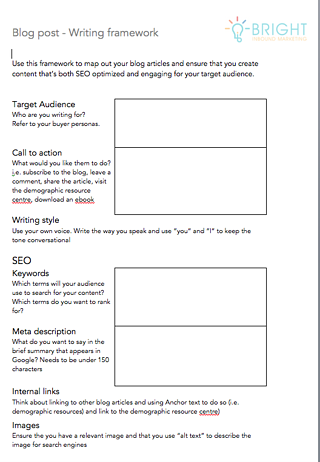 how to write a b2b blog post